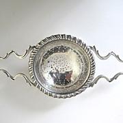 Sterling Silver Tea Strainer American circa 1915-1925