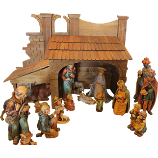 Vintage Goebel Hummel Nativity Set by Gerhard Skrobeck
