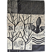 Magpie In The Orchard by Peter Fox. British Limited Edition