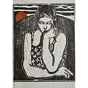 Full Moon by Sheila Oliner Limited Edition Etching