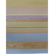 Calm Sea , Oil on Canvas by Martine Bernard.