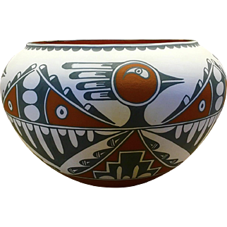 Jemez/San Felipe Pot by Mary Small