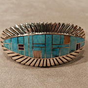 Lander Blue Turquoise Buckle Fidel Bahe also 330658237448 as well Sterling Silver Navajo Cuff Bracelet By Oscar Alexius T791 moreover Navajo Sterling Turquoise Bracelet Oscar Alexius i11261619 besides 1970x27s Navajo Butterfly Bracelet Oscar Alex78ius. on oscar alexius navajo jewelry