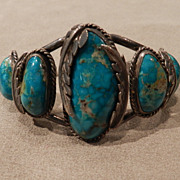 1970's Turquoise Pawn Bracelet