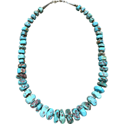 Turquoise Necklace by L. Begay