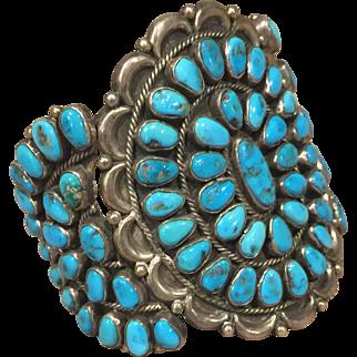 Zuni Style Cluster Bracelet