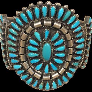 1950's Pawn Turquoise Bracelet