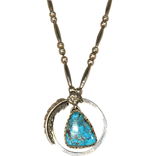 1970's Gem Turquoise Necklace
