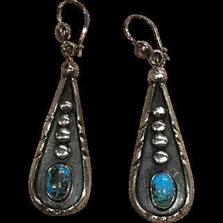 Classic Navajo Style Earrings