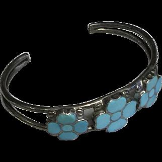 Zuni Turquoise Cuff Bracelet