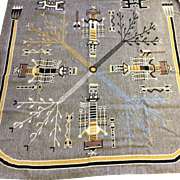 Navajo Indian Sandpainting Rug by Arnold Begay