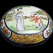 Vintage Oriental Cloisonne Snuff Box