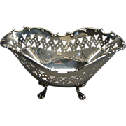 Antique Towle Sterling Silver Footed Dish Hallmarked