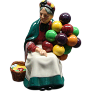 Vintage Royal Doulton The Old Balloon Seller Figurine HN 1315 MINT