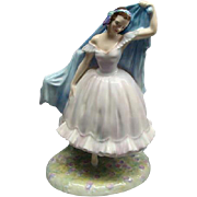 "Royal Doulton Porcelain Figurine ""THE FOREST GLADE GISELLE"" HN2140 Retired"