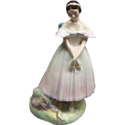 Royal Doulton Porcelain Figurine La Sylphide French Ballet Fairy Nymph HN2138