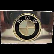 Franklin Mint Sterling Silver Ingot - Volvo Automobile Emblem