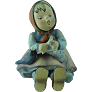 "Vintage Hummel Figurine # 69 Happy Past Time Germany 3 1/2"" H"