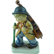 "Vintage Goebel Hummel Figurine # 89/I Little Cellist West Germany 5"" Tall Artist Signed"
