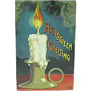 1912 Halloween Postcard Signed Ellen Clapsaddle Series 1393