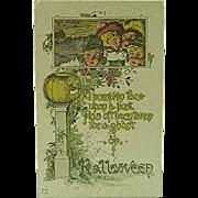 1915 Halloween Postcard By Nash H-10 Series