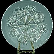 Antique ABP American Brilliant Period Cut Glass Pin Dish