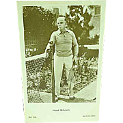 Vintage Hoot Gibson Postcard Pioneering Cowboy Star of Silent and Early Talking Westerns