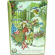 1909 Embossed Memorial Day Postcard Artist Signed Chapman
