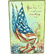 1909 Embossed Memorial Day Postcard Artist Signed Ellen Clapsaddle