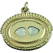 Victorian Gold Filled 2 sided Watch Fob Pendant
