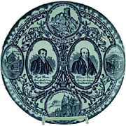 Commemorative Plate Primitive Methodist Centenary 1907 Mow Cop Wood & Sons 10""