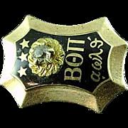 1949 10k Gold Beta Theta Pi Diamond Fraternity Pin