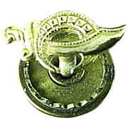 Vintage 10k Gold Shriners Masonic Lapel Pin Or Tie Tack