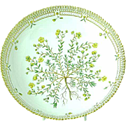 "Royal Copenhagen Flora Danica 10"" Salad Serving Bowl"