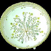 "Royal Copenhagen Flora Danica 10"" Salad Serving Bowl"