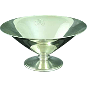 Tiffany & Co Sterling Silver Footed Bowl Makers Pattern 20948