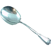 Antique Reed & Barton Chambord Sterling Silver Casserole Spoon Shell
