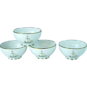 4 Lenox British Colonial Tradewind Rice Bowls Excellent #1