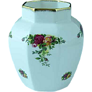 Vintage Royal Albert Old Country Roses Bone China Vase