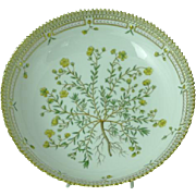 "Royal Copenhagen Flora Danica Large Deep 10"" Serving Bowl Mint Condition 1950 - 1984"