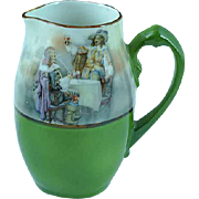 Antique Royal Bayreuth Creamer Drinking Musketeers Ca 1910