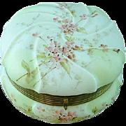 C. F. Monroe - Wave Crest - Helmschmied Swirl - Large Jewelry / Dresser Box