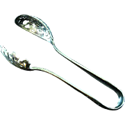 Gorham Hamilton Sterling Silver Ice Cube Tongs