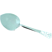 Sterling Silver Cake Server by McAuliffe & Hadley Boston No Mono