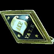 14k Gold Sorority Fraternity Pin Yale 1909 Delta Kappa Epsilon