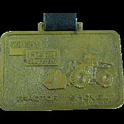 Vintage Michigan Clark Heavy Equipment Advertising Watch Fob Shovels & Loaders