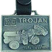 Vintage Eaton Yale and Towne Heavy Equipment Advertising Watch Fob Shovels & Loaders