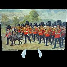 1908 Postcard Raphael Tuck Oilette The Irish Guard #3546 Signed Harry Payne