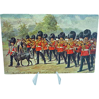 1908 Postcard Raphael Tuck Oilette The Irish Guard #3546 Signed Harry Payne