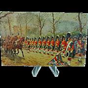 1908 Postcard Raphael Tuck Oilette The Gordon Highlanders #3546 Signed Harry Payne